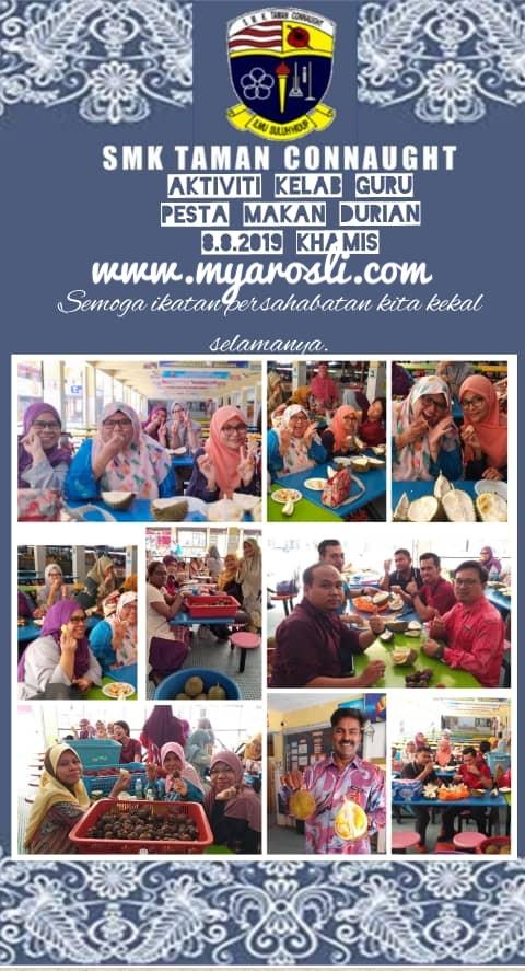 Festival Durian SMKTC 2019