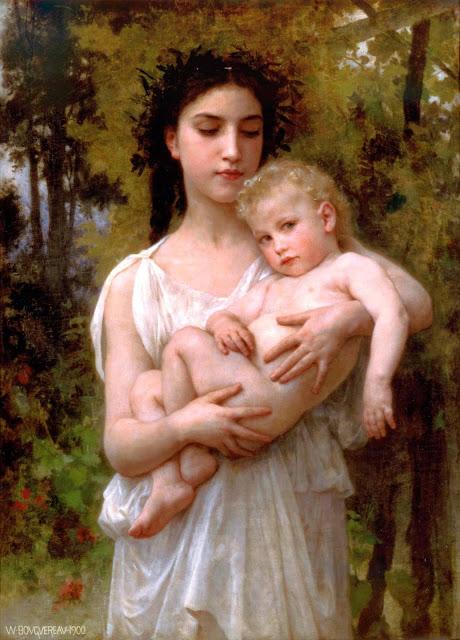 Адольф Вильям Бугро - Младший брат (1900)