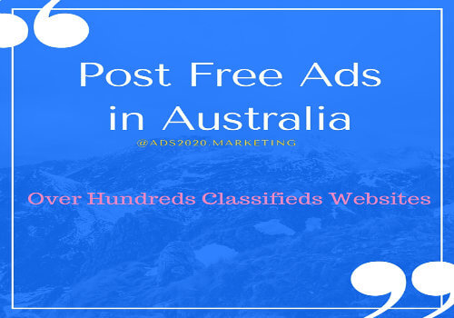 Post Free Classified Ads In Australia