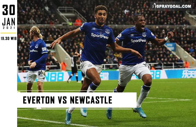 Prediksi Skor Everton Vs Newcastle Sabtu 30 Januari 2021