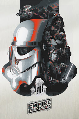 Star Wars: The Original Trilogy Timed Edition Print Series by Devin Schoeffler x Dark Ink Art