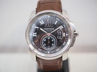 カルティエ カリブルをお買い取り致しました W7100014 自動巻き紳士用ブランド腕時計