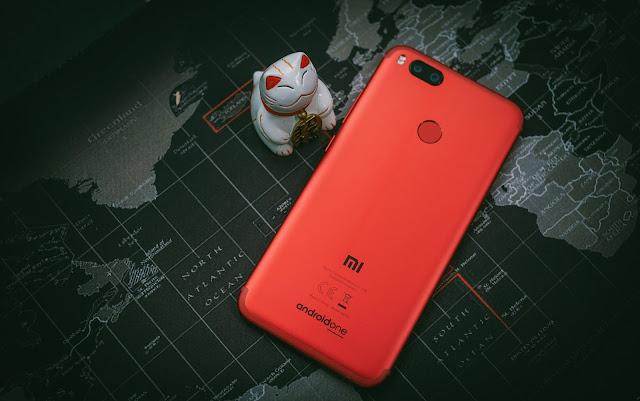 A Xiaomi Mi A1 Smartphone