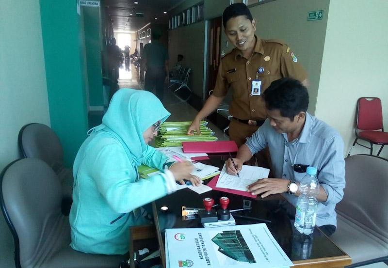47 Balon Kades Di Pakuhaji Laksanakan Medical Check Up