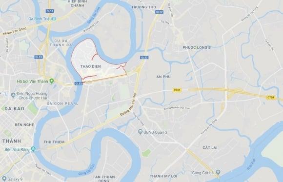 Biệt thự ở Thảo Điền bịt kín lối ra bờ sông Sài Gòn ảnh 21