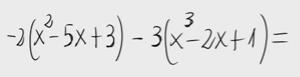 6.Combinación lineal de polinomios