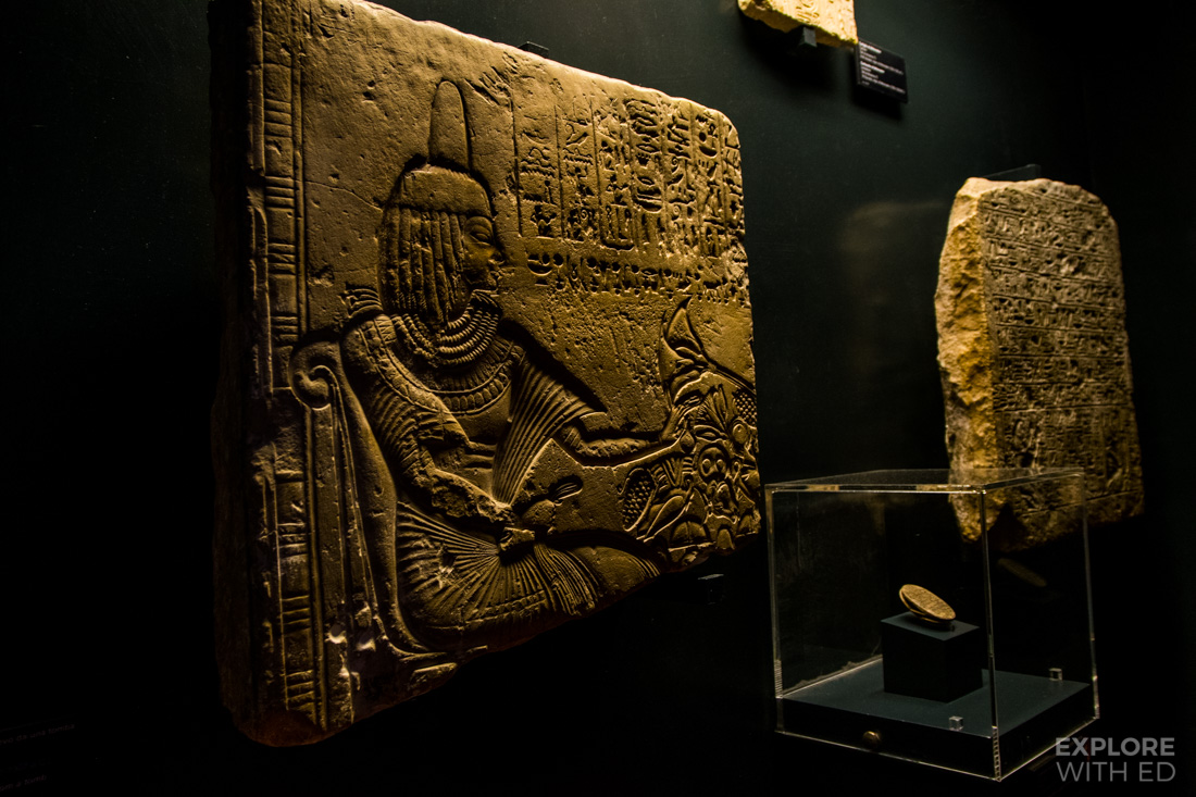 Egyptian Artefacts inside Vatican Museum
