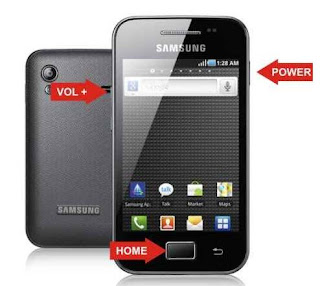 Cara Hard Reset HP Samsung Galaxy Ace GT-S5830, Ace Duos, Ace Plus S7500
