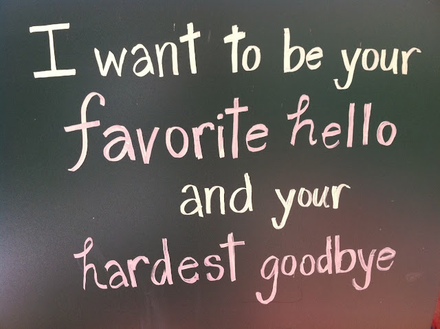 Goodbye quote