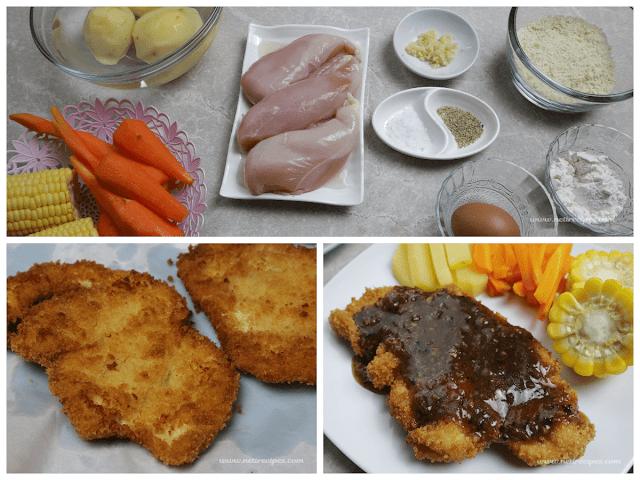 Resep Steak Ayam Saus Lada Hitam