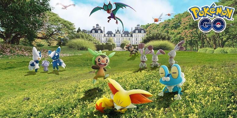 Pokémon GO Kalos