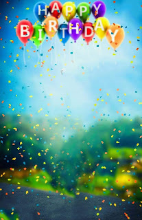 Happy Birthday Background Free Stock Image