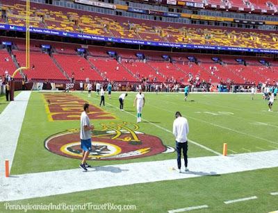 Washington Redskins Football Game at FedEx Field in Maryland