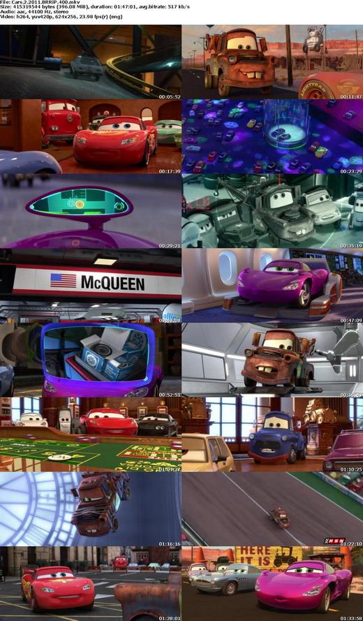 Cars 2 Online English Subtitles