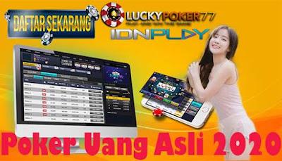 Poker Uang Asli 2020