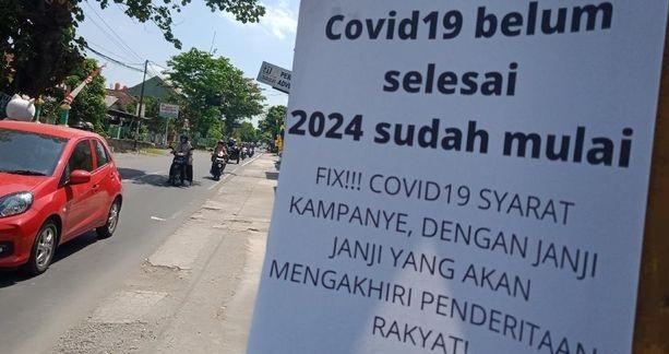 Selebaran 'Dipaksa Sehat di Negara Sakit' Marak Bertebaran di Klaten, Pelakunya Bakal Dicari Polisi?
