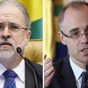 www.seuguara.com.br/Augusto Aras (PGR)/André Mendonça (AGU)/