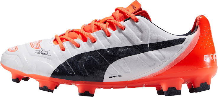 207a7f0ce White / Orange Puma evoPOWER 1.2 2015-2016 Boots Released - Footy ...