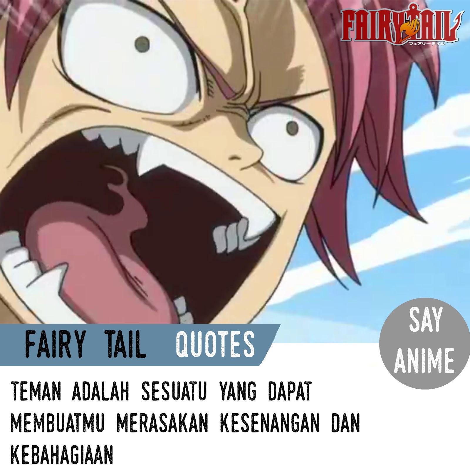 6200 Koleksi Gambar Kata Bijak Fairy Tail HD Terbaik