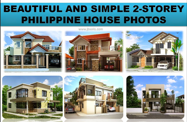 33 beautiful and simple 2 storey philippine house photos