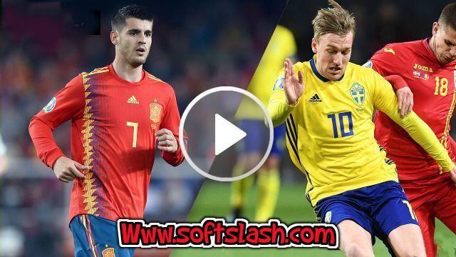 شاهد مباراة اسبانيا ضد السويد مباشر live أو عبر iptv بدون تقطيع