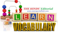 THE HINDU Editorial Vocabulary-May 31, 2017- Topic 2
