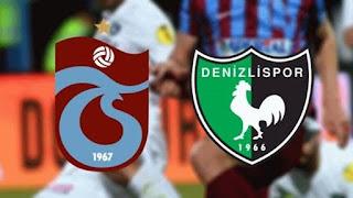 Denizlispor  Trabzonspor Canlı Maç izle