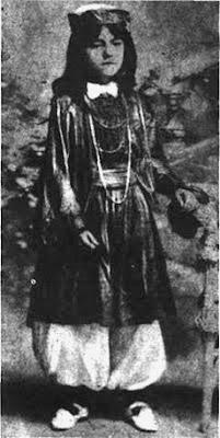 Rosita Quiroga en 1909