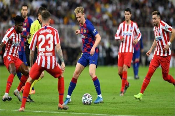 موع مباراة اتليتكو مدريد وبرشلونه من الدوري الاسباني