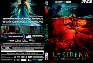 LA SIRENA: LA LEYENDA JAMAS CONTADA – MERMAID: THE LAKE OF THE DEAD – 2019 [COVER – DVD]