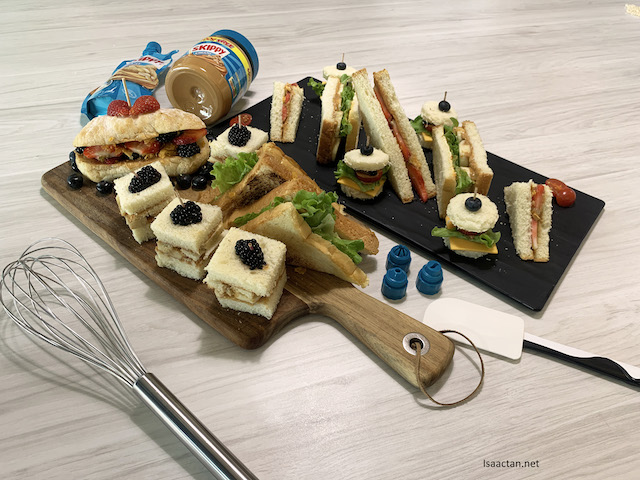 All about sandwiches made with Skippy Peanut Butter