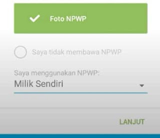 daftar jenius tanpa npwp