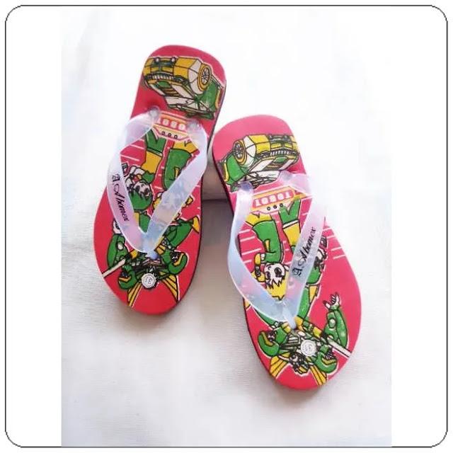 grosirsandalmurah.net - Sandal Anak - Sandal Karakter Spon Anak