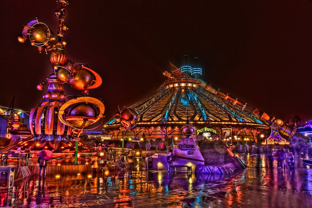 Discoveryland, attraction of Disneyland Paris,one of the best theme parks in the world