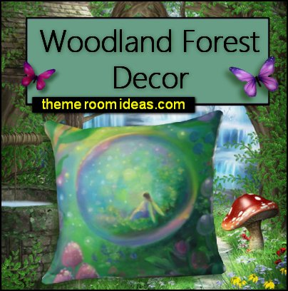 FAIRY WOODLAND DECOR fairy woodland bedroom decor fairy pillows fairy bedding