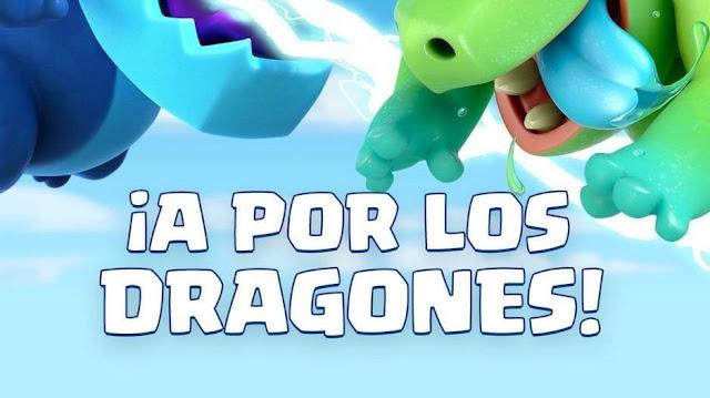 Mejores mazos para ganar Fácil desafío bote del dragón Clash Royale