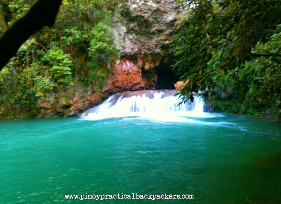 Blue waterfalls and caves pinoy practical backpacker for Jardin de dasmarinas 2016