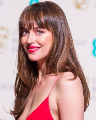 Medium Layered with curtain bangs - 20 Best Medium Layered Haircut - For Women Of All Ages