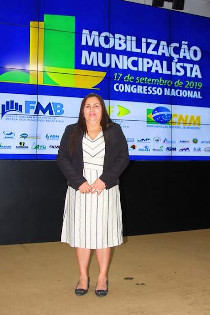 Em Brasília, prefeita Vanderly participa de evento municipalista e mantém encontro com Márcio Jerry, Gastão Vieira, João Marcelo e Weverton Rocha
