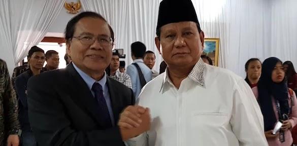 Gerindra: Insya Allah Bang Rizal Ramli Bersama Kami