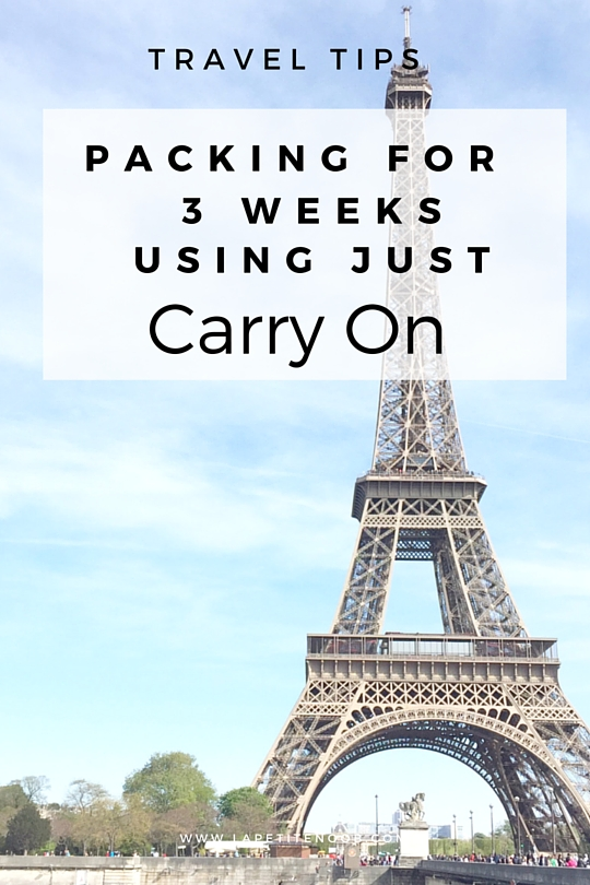 what to pack for paris italy amsterdam using only carry on luggage