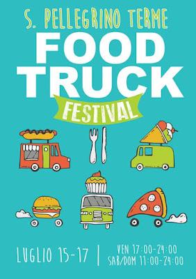Food Truck Festival 15 - 16 - 17 luglio San Pellegrino Terme (BG) 2016