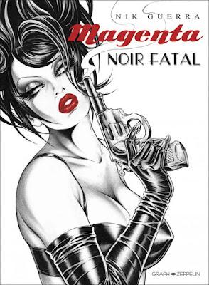 Magenta - Noir Fatal editions Graph Zeppelin