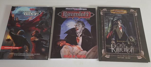 Ravenloft 5e, 2e and 3e
