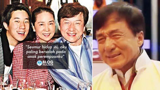 """""""Anak Perempuan Bunuh Diri, Anak Lelaki Penagih""""- Di mana Silap Jackie Chan?"""