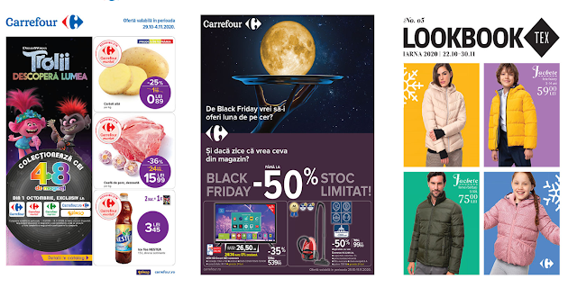 CARREFOUR Cataloage - Brosuri 29.10 - 04.11 2020 → BLACK FRIDAY 2020