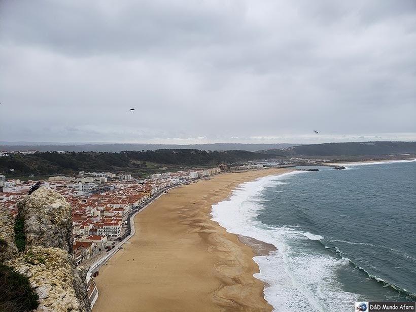 Praia de Nazaré - O que fazer em Nazaré Portugal