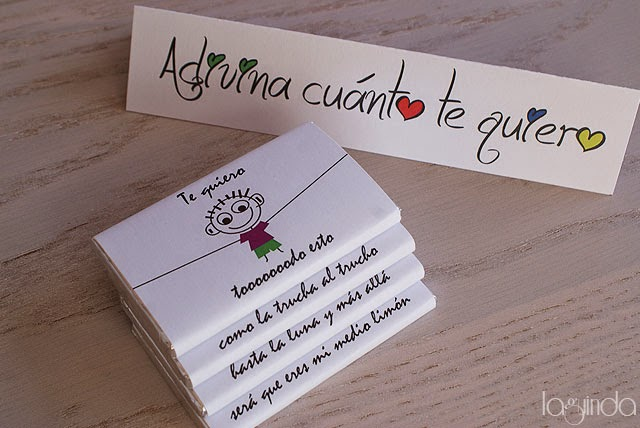 regalo original san valentín chocolatinas personalizadas