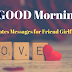 Good Morning Love Messages for Girlfriend Boyfriend wife