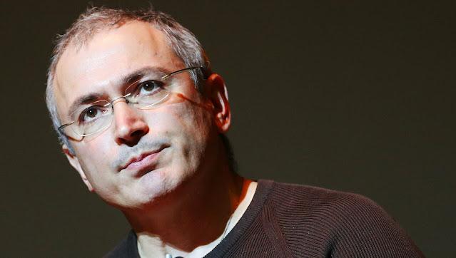 Экс владелец нефтяной компании ЮКОС Михаил Ходорковский